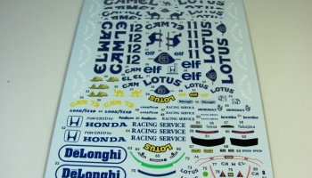 Lotus 99T Full 1987 - Tabu Design