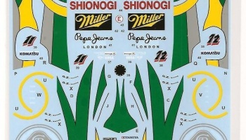 Lotus Type 107C Full Sponsor - Tabu Design