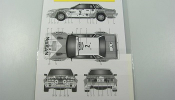 Nissan 240 RS Safari 1984 - Tabu Design