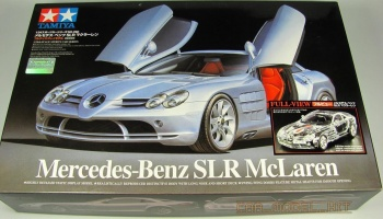 Mercedes-Benz SLR McLaren Full View - Tamiya