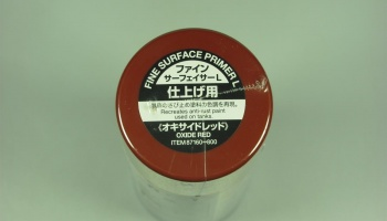 Fine Surface Primer L - Oxide Red - Tamiya