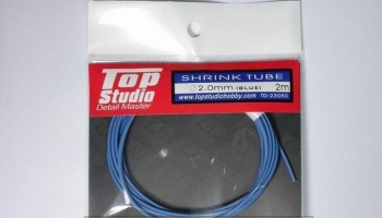 Shrink Tube (Blue) 2.0 mm - Top Studio