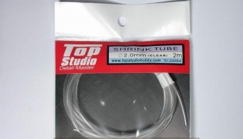 Shrink Tube (Clear) 2.0 mm - Top Studio