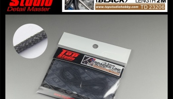 Braided Line Black 0,8mm - Top Studio