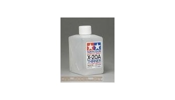 X-20A Acrillic Thinner X20A 250ml - Tamiya