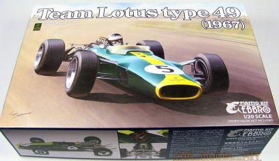 Team Lotus Type 49 (1967) - Ebbro