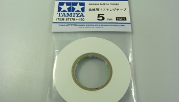 Masking Tape for Curves 5mm - Tamiya