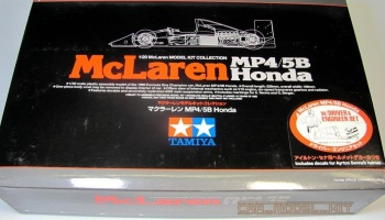McLaren Honda MP4/5B w/Driver & Engineer Set - Tamiya