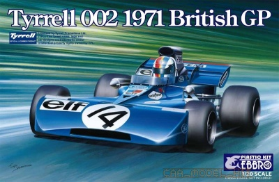 Tyrrell 002 British GP 1971 - Ebbro