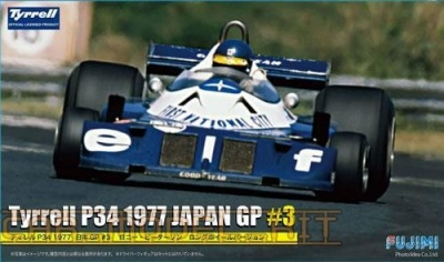 Tyrrell P34 1977 Japan Grand Prix #3 (Peterson) - Fujimi