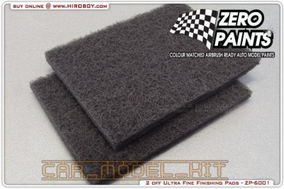 Ultra Fine Flexible Finishing Pads (x2) - Zero Paints