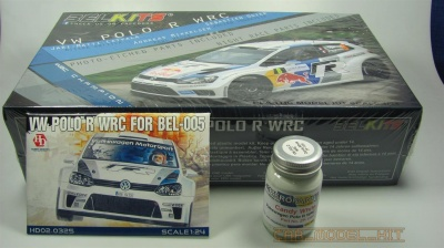 VW Polo R WRC Belkits + barva Zero Paints + detail set Hobby Design
