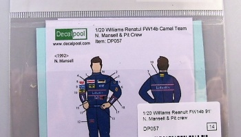 Williams FW14B N.Mansell Rider - Decalpool