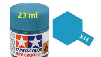 X-14 Sky Blue Acrylic Paint 23ml X14 - Tamiya