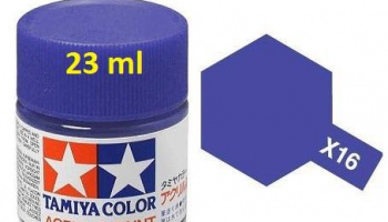 X-16 Purple 23ml - Tamiya