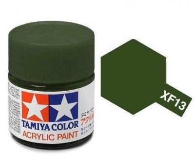 XF-13  J.A. Green Acrylic Paint Mini XF13 - Tamiya
