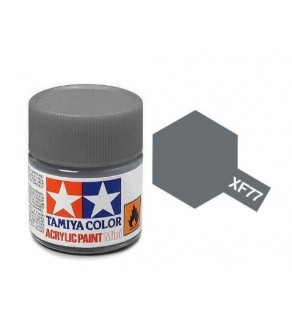 XF-77  Gray (Sasebo Arsenal) Acrylic Paint Mini XF77 - Tamiya