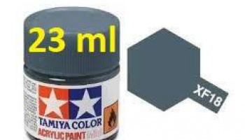 XF-18 Medium Blue Acrylic Paint 23ml  XF18 - Tamiya