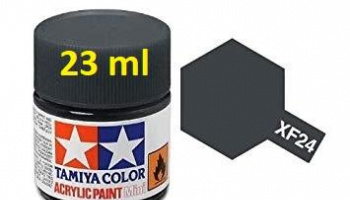 XF-24 Dark Grey Acrylic Paint 23ml XF24 - Tamiya