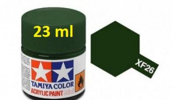 XF-26 Deep Green Acrylic Paint 23ml XF26 - Tamiya