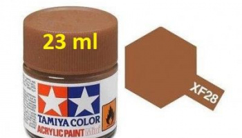 XF-28 Dark Copper Acrylic Paint 23ml XF28 - Tamiya