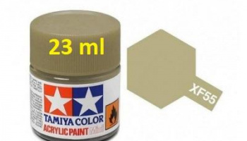 XF-55 Deck Tan Acrylic Paint 23ml XF55 - Tamiya