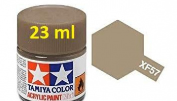 XF-57 Buff Acrylic Paint 23ml XF57 - Tamiya