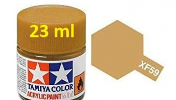 XF-59 Desert Yellow Acrylic Paint 23ml XF59 - Tamiya