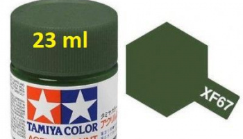 XF-67 NATO Green Acrylic Paint 23ml XF67 - Tamiya
