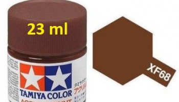 XF-68 NATO Brown Acrylic Paint 23ml XF68 - Tamiya