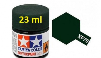 XF-70 Dark Green 2 Acrylic Paint 23ml XF70 - Tamiya