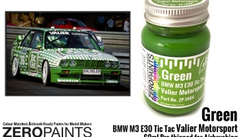 Green BMW M3 E30 Tic Tac Valier Motorsport 60ml - Zero Paints
