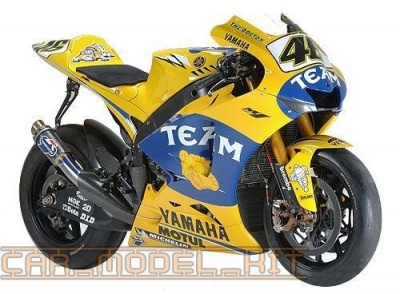 Yamaha MotoGP Bikes - Camel Yellow - Zero Paints