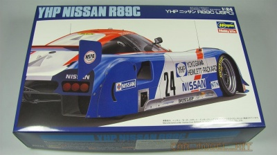 YHP Nissan R89C Limited Edition - Hasegawa