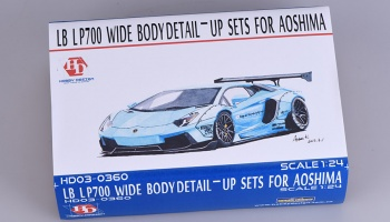 LB LP700 Wide Body Detail- Up Set for Aoshima - Hobby Design