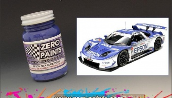 Honda NSX Epson 2005 - Blue - Zero Paints