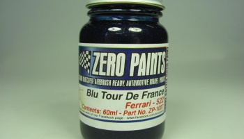 Ferrari Blu Tour de France (Met Blue) - Zero Paints