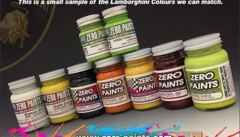 Lamborghini Paint 2x30ml Giallo Midas - Zero Paints
