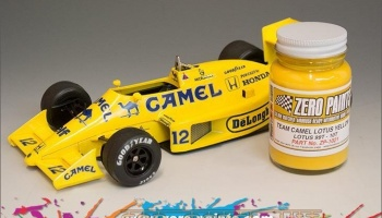 Team Camel Lotus Yellow 99T - 100T - Zero Paints