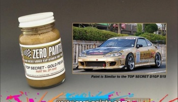 TS Gold Pearl - Base Coat Paint - Zero Paints