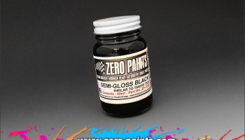Semi Gloss Black - Zero Paints