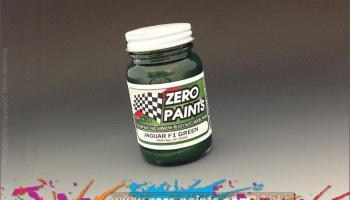 Jaguar F1 - Green - Zero Paints