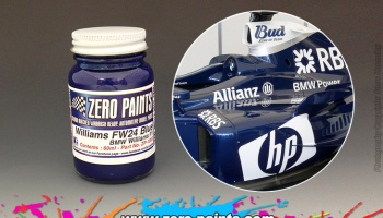 Williams F1 BMW FW24 Blue - Zero Paints