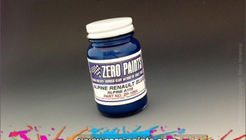 Renault Alpine - Blue - Zero Paints