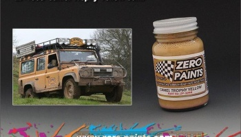 Camel Trophy Yellow - Zero Paints