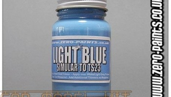 Light Blue Paint (Similar to TS23) - Zero Paints