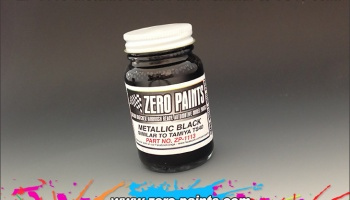 Metallic Black Paint (Similar to TS40) - Zero Paints