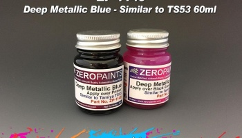 Deep Metallic Blue (Similar to TS53) 60ml - Zero Paints