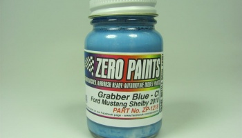 Ford Mustang Shelby 2010 - 60ml Blue - Zero Paints