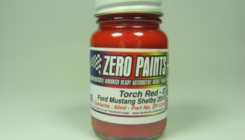 Ford Mustang Shelby 2010 - 60ml Red - Zero Paints